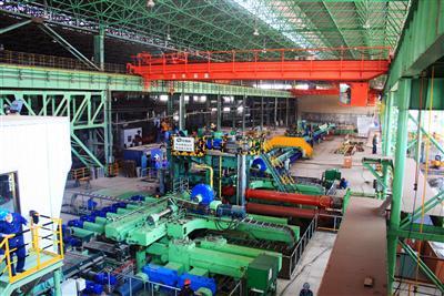 China's Largest Breakdown Mill Housing Setting up in Handan Steel