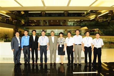 President of Nippon Steel Engineering Visits CISDI