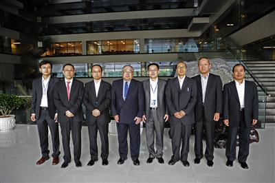 JFE Management Visits CISDI