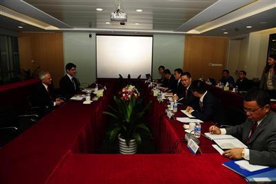 SEI Management Visits CISDI