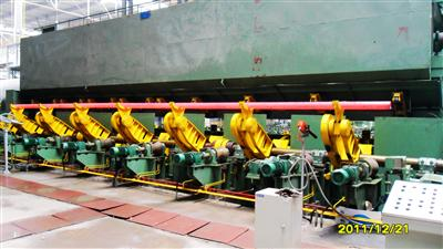 Startup of Φ258mm Seamless Steel Tube Mill for Valin-Xigang
