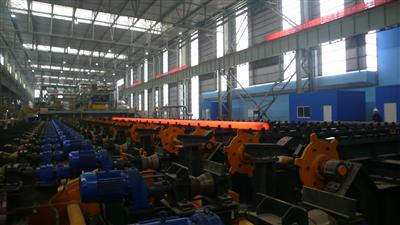 Successful Hot Commissioning of Ф180 OCTG Line in Hengyang Steel