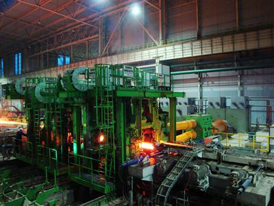 Hot Test of Heavy H-Steel Mill Succeed in Handan Steel