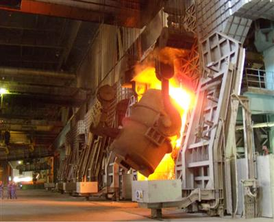 Hot Commissioning of TISCO No.3 BOF Succeeds