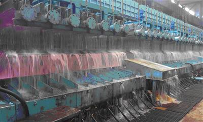 Tangshan Steel 1,700mm HSM Laminar Cooling Starts Operation after Revamping
