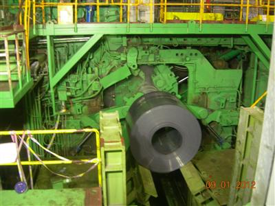 Revamped 1,549mm HSM of Taiyuan Steel Starts Operation