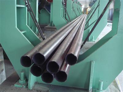76mm Continuous Tube Mill of Chengde Steel Passes Hot Test