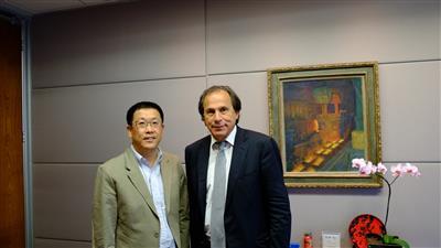 CISDI Vice President Chen Visits CSN