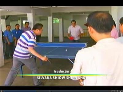 Globo TV Interviews CISDI SV Personnel in Brazil