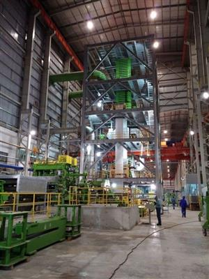 Load Test of Ton Dong A Cold Mill, Vietnam