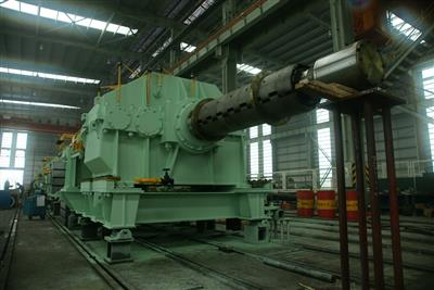 Ex-works Inspection of YIEH PHUI CAL Payoff Reel and Coiler