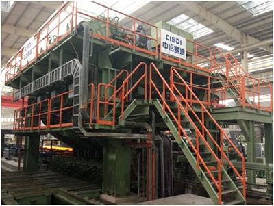 The world's smallest-pipe-diameter conventional three-roll mandrel pipe mill supplied by CISDI commissioned successfully